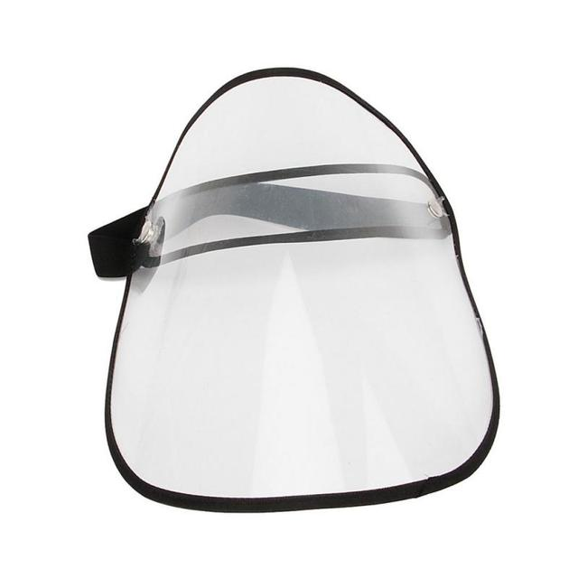 Safety Visor Shield Anti Droplet Saliva Fog Spittle Dust Windproof Full Face Cover Mask Empty Top Hats Face Eyes Protector Mask 5