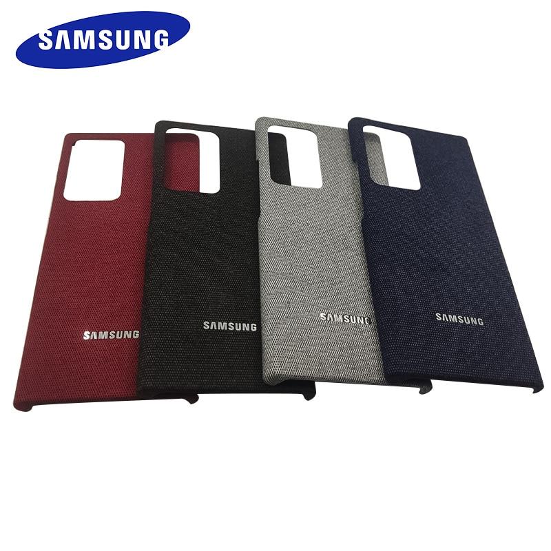 Чехол для SAMSUNG S20FE, Hiha, парусиновый чехол с подставкой для Galaxy Note 20 Ultra Note20 S20 FE A31 M31, роскошный кожаный чехол для телефона