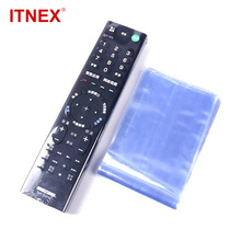 25/50Pcs Waterproof Heat Shrink Film Clear TV Air Condition Remote Control Dust-proof Protector Cover Home Protective Case New
