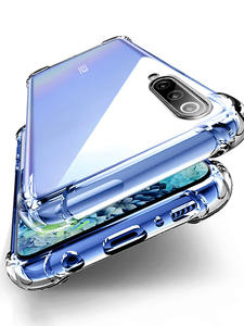 Противоударный чехол для Xiaomi Mi Note 10 Pro, чехол для Xiaomi Mi Note 10 Pro, 9, 6, 8, SE, 9T, A2, A3 Lite, Mix 2s, 8, 7, 6, K20, 9A, 8T, K30 Pro, 4X, 6A, 7A, 8A, 5 Plus прозрачный чехол на телефон ч...
