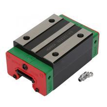 цена на 1Pcs HGH35CA Red and Green Linear Guide Rail Block Slider Bearing Steel Sliding Block