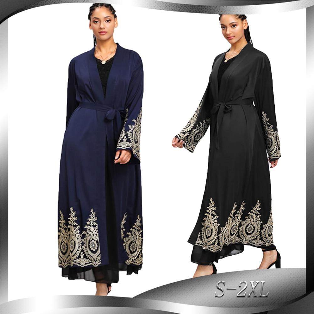 Abaya Kimono Cardigan Turkish Muslim Hijab Dress Saudi Arabia African Dresses For Women Coat Kaftan Dubai Caftan Islam Clothing