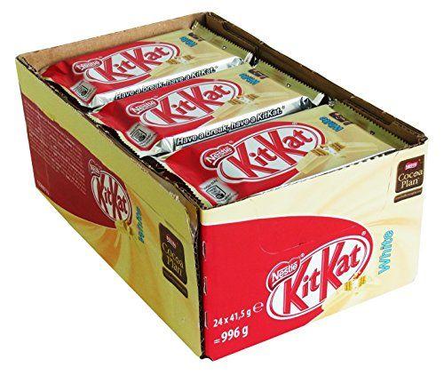 Nestlé KitKat White 41.5g (Pack Of 24)