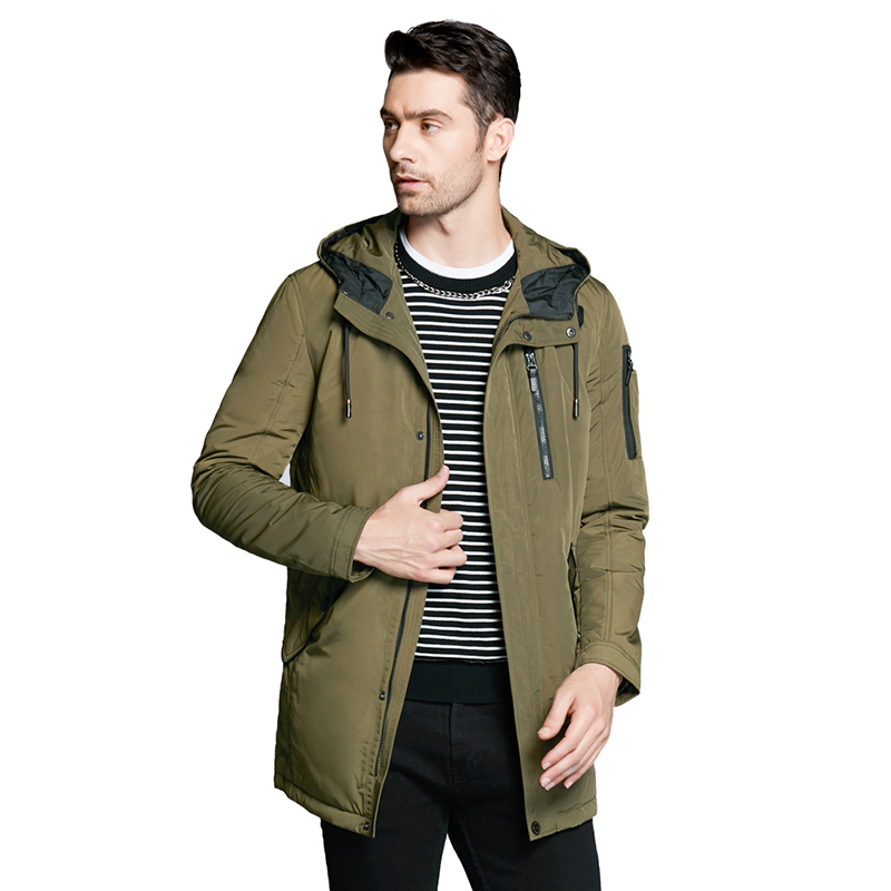 ICEbear 2019 new autumnal men's jacket short casual coat overcoat hooded man jackets high quality fabric men's cotton MWC18228D icebear 2018 new autumn women cotton padded high quality thermal short paragraph slim women s jacket fall woman jacket gwc18126d