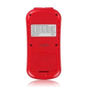 Image 2 - GM1312 ثنائي القناة مقياس الحرارة الرقمية المهنية ميزان الحرارة الرقمي قياس عالية الدقة مقياس الحرارة تستر