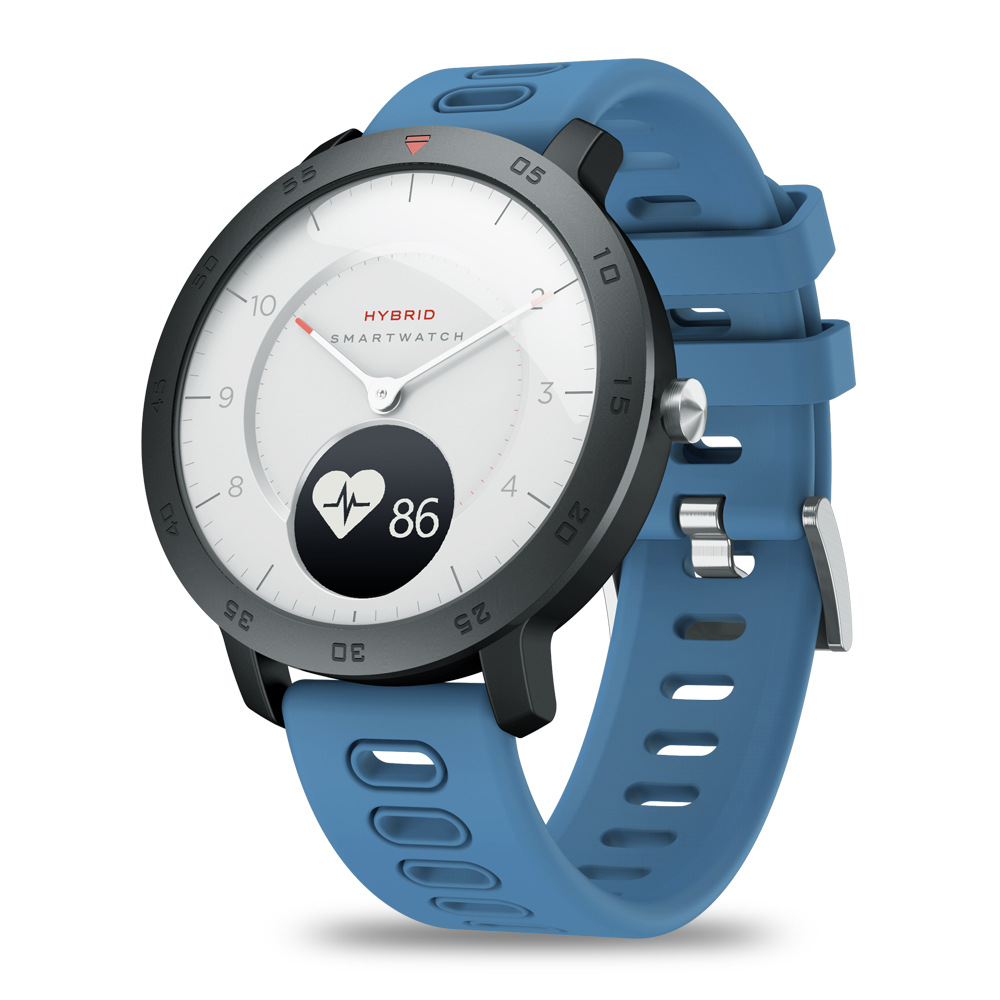 Smartwatch Heart Rate Weather Temperature Reminder Dual Modes Mechanical Hands Charging Waterproof Sports Smart Watch Wristband