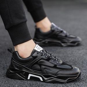 Image 5 - Erkekler rahat ayakkabılar Tenis Nefes Krasovki Lace Up Lüks Moda Sokak Trend Işık Sneakers Erkek Chaussure Homme Zapatillas 46