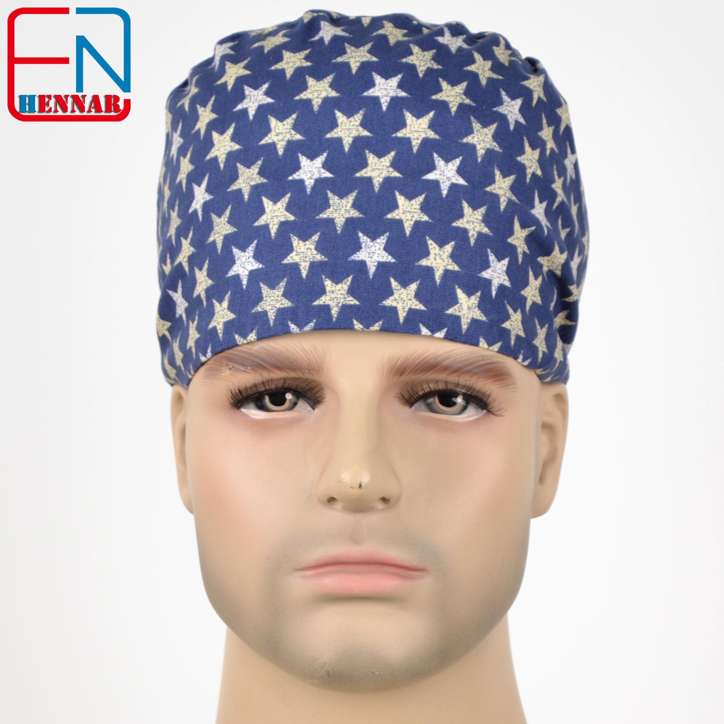Hennar Medical Scrub Caps,unisex Surgical Caps,doctor Caps,dentist Caps,nurse Caps