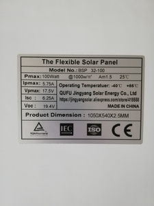 Image 5 - 200W Solar Panel equal 2pcs of 100W panel solar Monocrystalline solar cell 12v solar battery charger for RV home boat 200w 300w