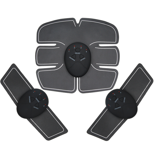 EMS Hip Muscle Stimulator ABS Abdominal Muscle Trainer Exercise Weight Loss Relaxation Body Fitness Home Gym Workout Equipment 1