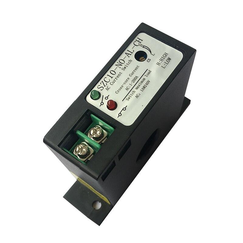 Current Sensing Switch Transformer Detection Transmitter Current Conversion PLC Control SZC10-NO-AL-CH
