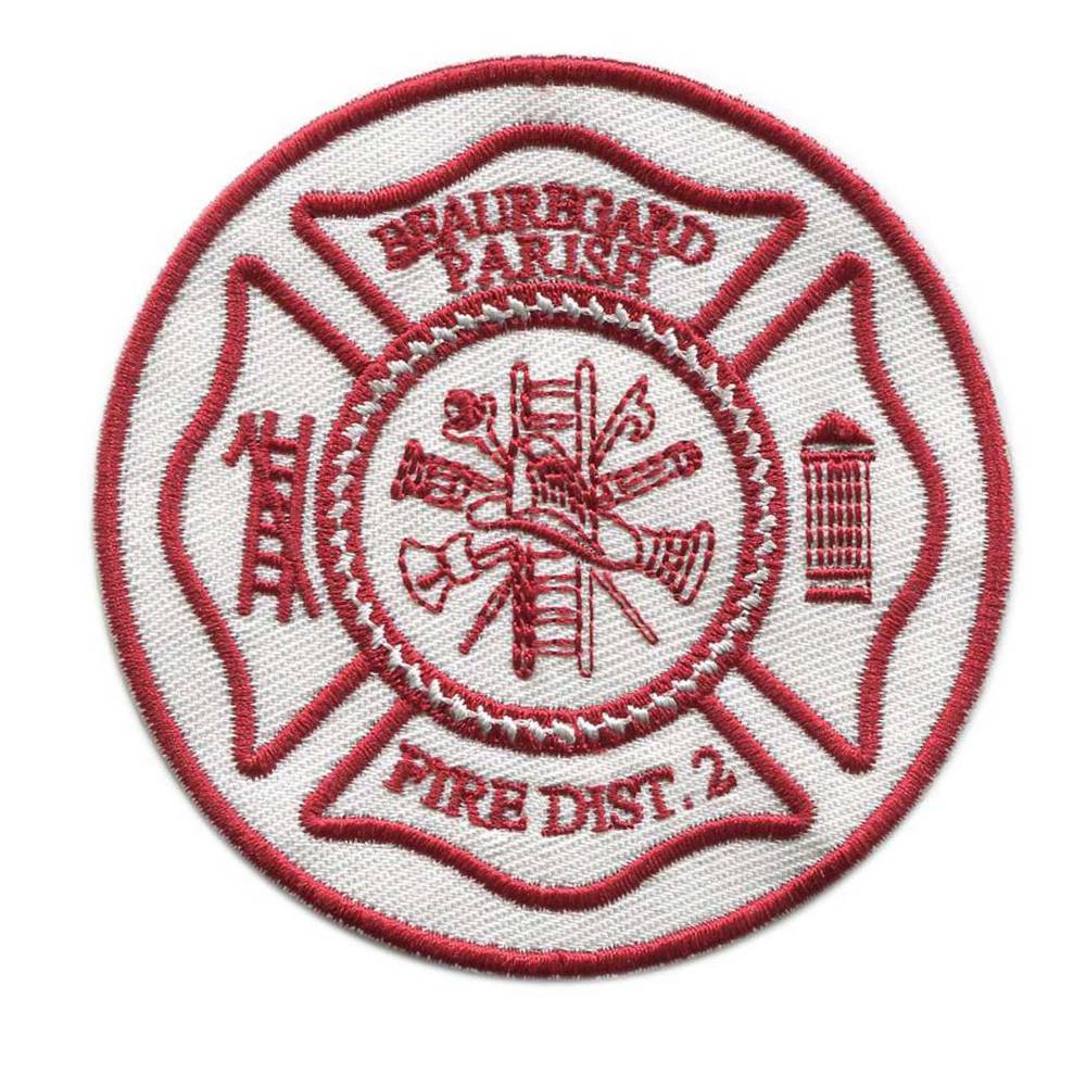 Factory Price Fire Patch Custom Patches Embroidery Patches For Garment No Minimum Request