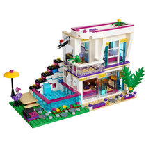 swimming pool Good friend series big pop star girl villa Building-block Toys Compatible with Educating Children Christmas Gifts