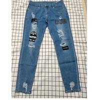 Pencil jeans Slim Men Trousers  1