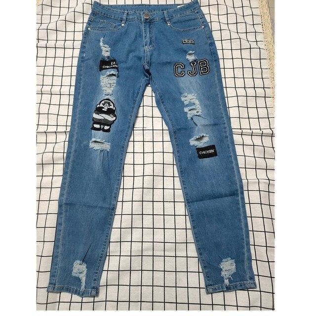 Pencil jeans Slim Men Trousers  4