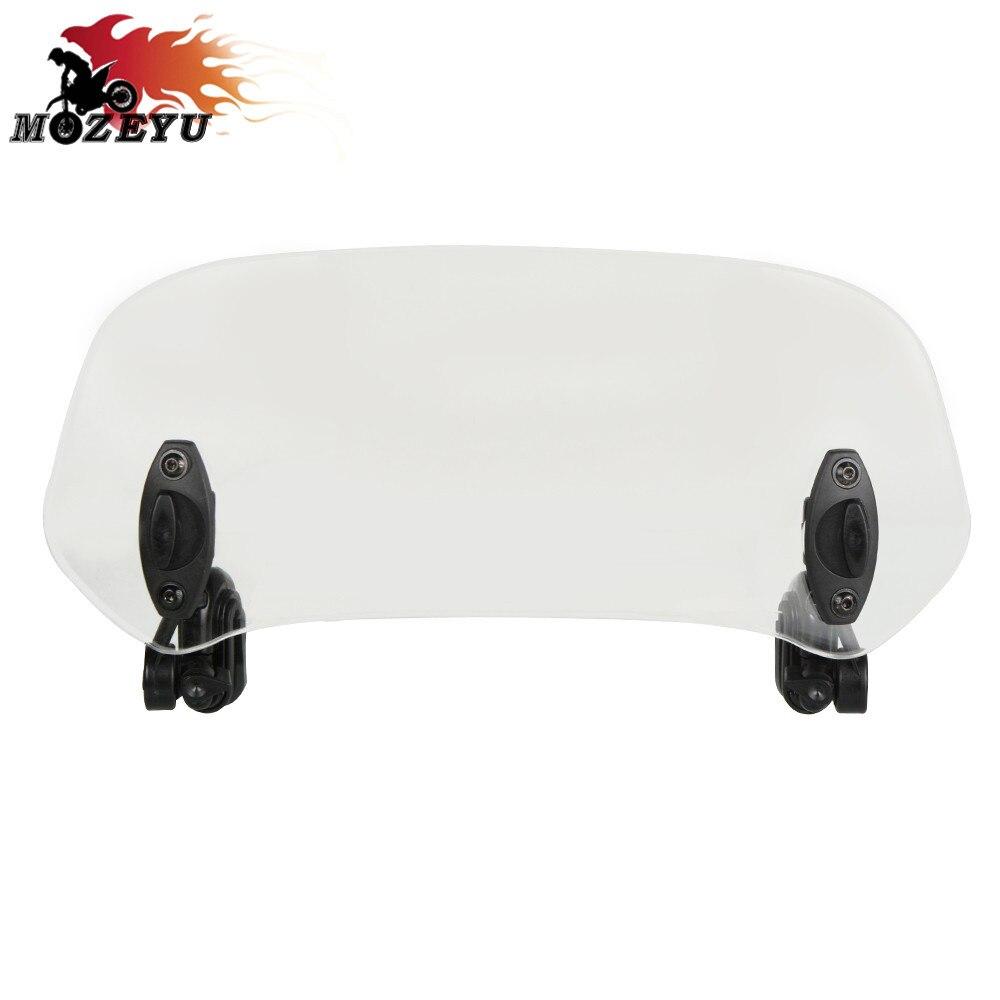 Motorcycle Risen Adjustable Wind Screen  Windscreen Deflector For Honda VFR800 VFR800X VFR800F VFR1200X VFR1200F| |   - title=
