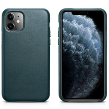 Original Cowhide Genuine Leather Back Case for iPhone 11 Slim iPhone11 Pro Phone Case Protective Back Cover for iPhone11 Pro Max