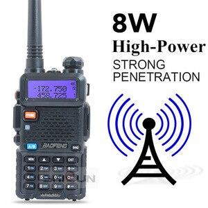 Image 5 - Facultatif 5W 8W Baofeng UV 5R Talkie walkie 10 km Baofeng uv5r talkie walkie chasse Radio uv 5r Baofeng UV 9R UV 82 UV 8HX UV XR