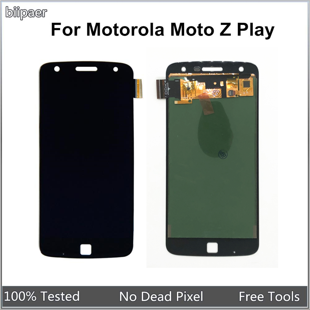 Tested LCD <font><b>Display</b></font> For Motorola <font><b>Z</b></font> <font><b>Play</b></font> <font><b>XT1635</b></font> LCD Screen Touch Digitizer Assembly For <font><b>Moto</b></font> <font><b>Z</b></font> <font><b>Play</b></font> <font><b>XT1635</b></font> <font><b>XT1635</b></font>-01 <font><b>XT1635</b></font>-02 image