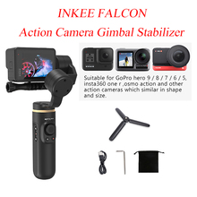 INKEE FALCON Action Camera Gimbal Stabilizer Handheld 3 Axis Anti-Shake Wireless Control for OSMO Insta360 GoPro Hero 9/8/7/6/5