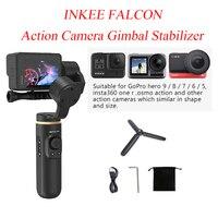 INKEE FALCON Action Camera stabilizzatore cardanico palmare per OSMO Insta360 GoPro Hero 9/8/7/6/5 controllo Wireless anti-vibrazione a 3 assi