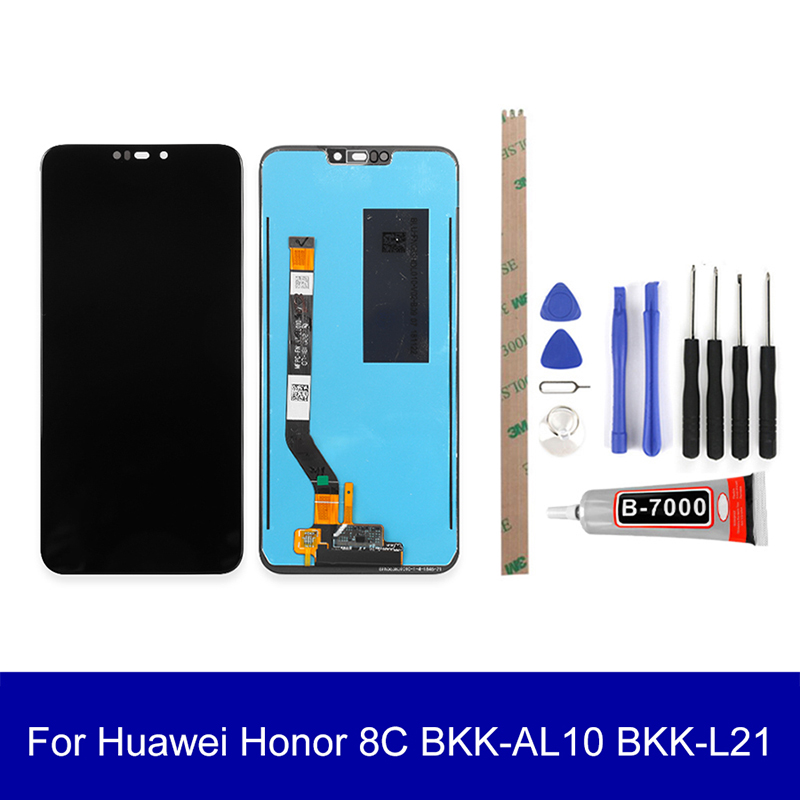 Original Lcd For Huawei <font><b>Honor</b></font> <font><b>8C</b></font> BKK-AL10 BKK-L21 Lcd <font><b>Display</b></font> <font><b>Touch</b></font> <font><b>Screen</b></font> Assembly <font><b>Screen</b></font> Replacement Parts image