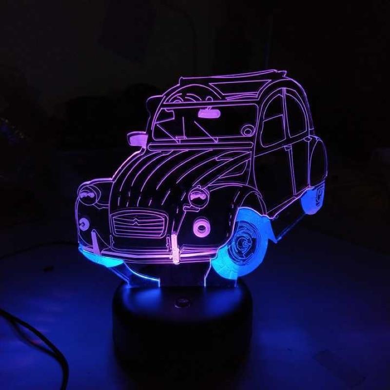 lâmpada de mesa 3d para crianças bebê