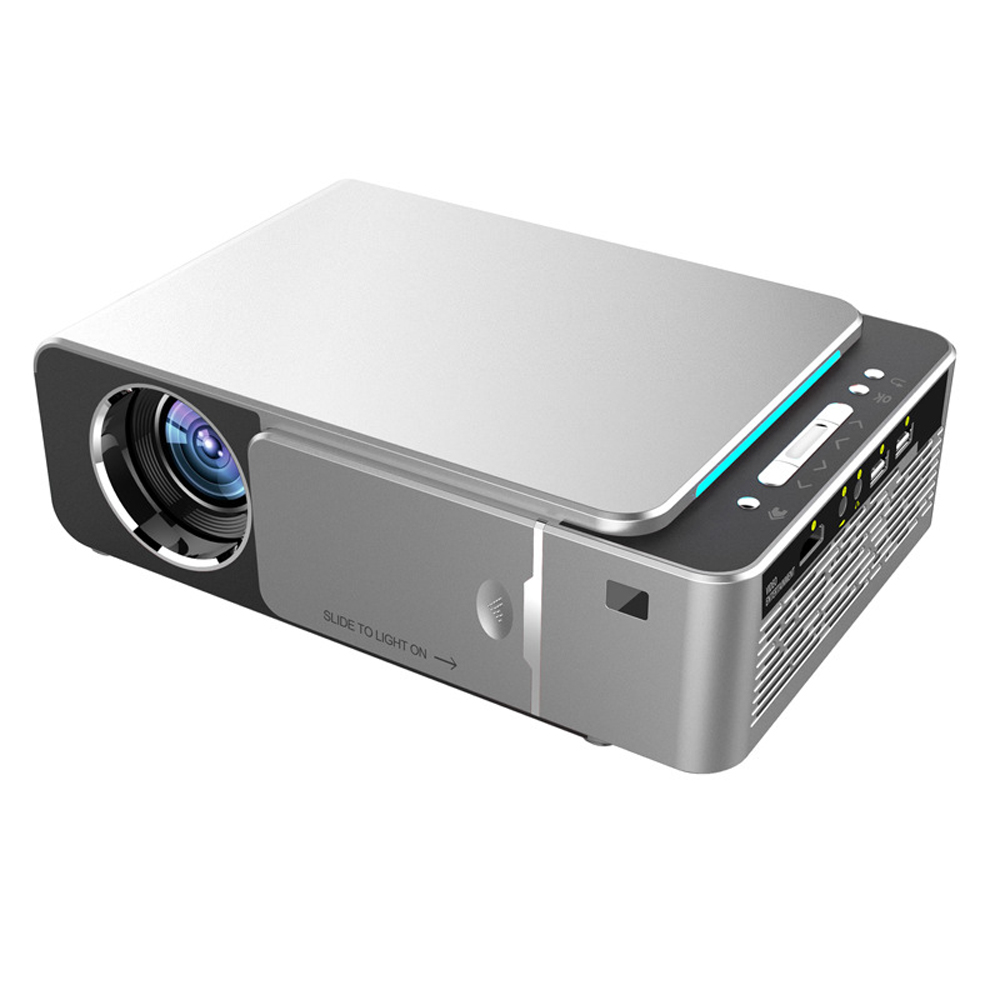 T6 High Definition 1080P ProjectorsPortable Projector 1920*1080 Max Resolution Household LED Projector Built-in Android system image