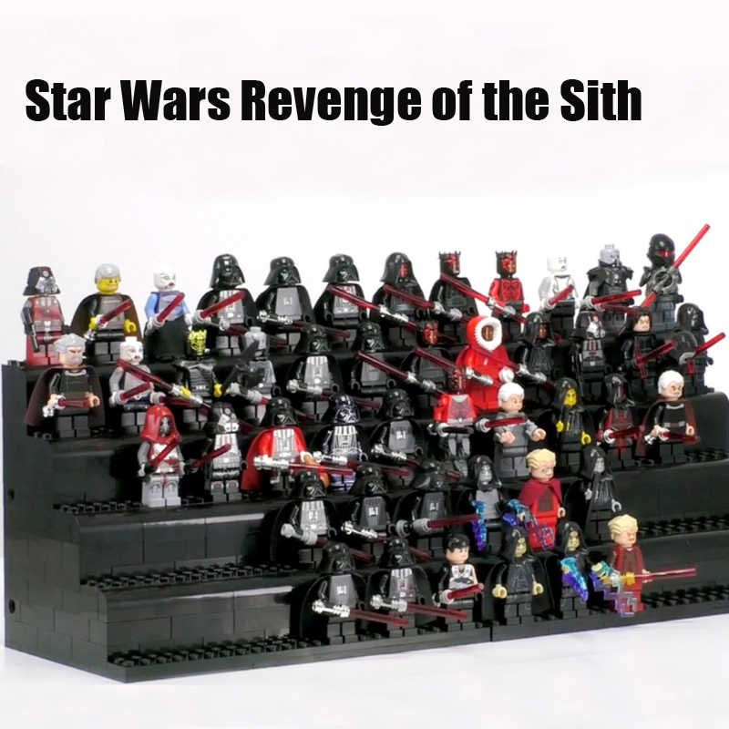 Nieuwe Star Wars Dark Sith Lord Palpatine Darth Vader Nihilus Darth Maul Sith Stormer Mini Minifig Compatibel Legoe Blok Kid speelgoed