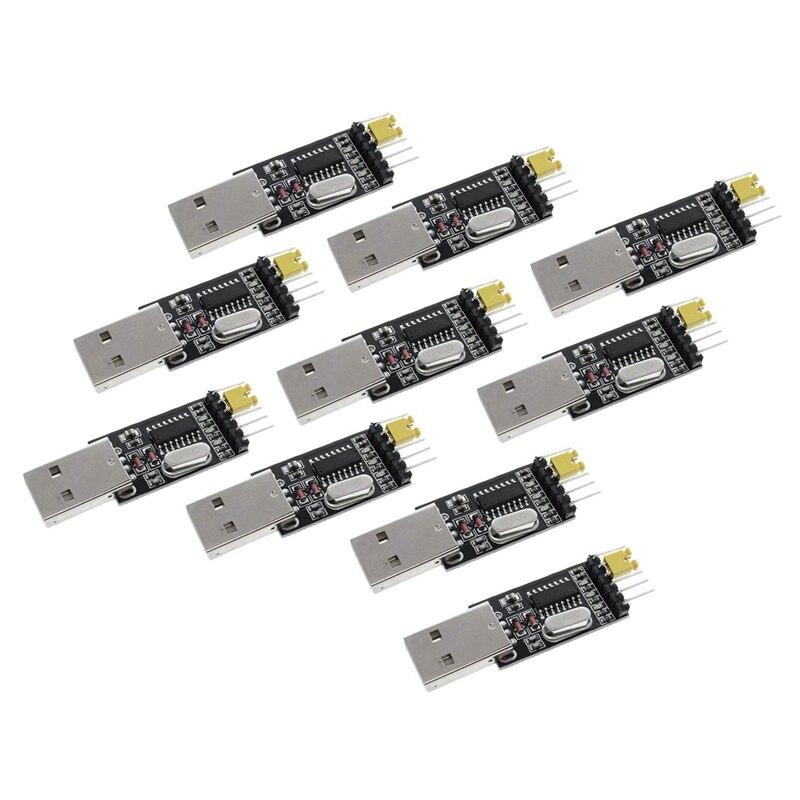 10 Pcs CH340G במקום PL2303 USB לttl הסידורי מברשת לוח