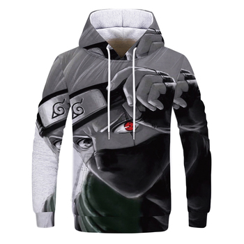 2020 New style Anime Kakashi Hoodies Streetwear itachi pullover Sweatshirt Men Fashion autumn winter Hip Hop hoodie pullover 2020 naruto akatsuki hoodies women men itachi pullover fashion autumn winter sweatshirt unisex hip hop streetwear hooded coat