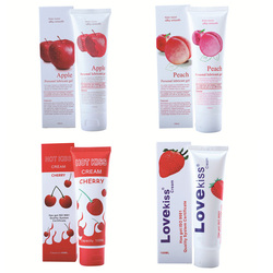 Sex Lubricant 100ml Lubricants Water-based Peach/Strawberry/Apple/Cherry Sex Oil Vaginal and Anal Gel  Adults Sex Product