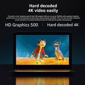 "CHUWI HeroBook Pro+ 13.3"" 3200*1800 resolution Windows 10 Laptop Intel Celeron J3455 Quad Core 8GB RAM 128GB ROM Bluetooth 5.0 3"