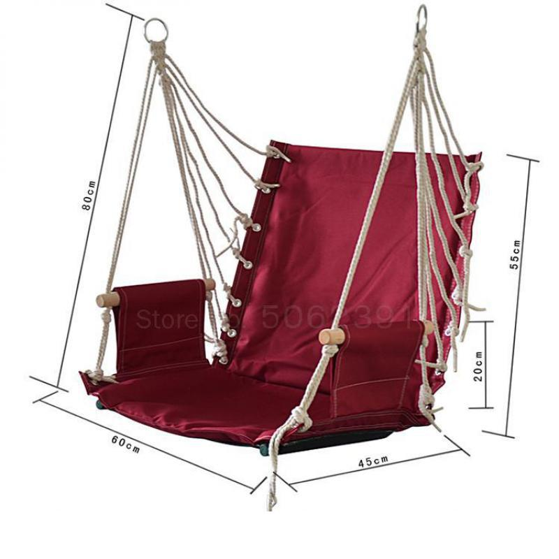 80x120cm Round Hammock Chair Outdoor Indoor Dormitory Bedroom Yard For Child Adult Swinging Hanging Single Safety Chair Hammock Kupit Nedorogo V Internet Magazine S Dostavkoj Sravnenie Cen Harakteristiki Foto