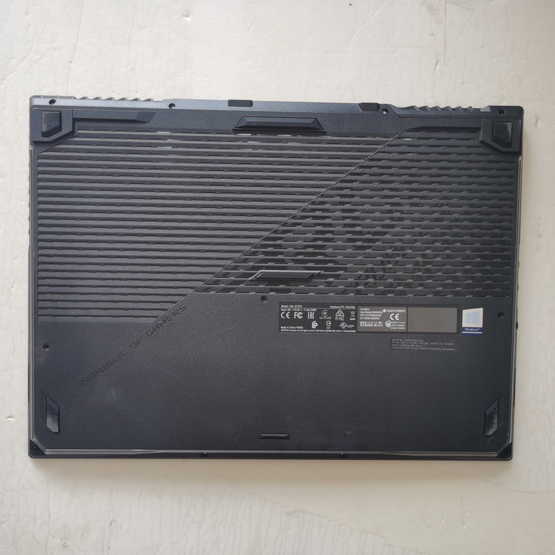 95% new laptop bottom case base cover for ASUS ROG <font><b>G731</b></font> PLUS 17.3