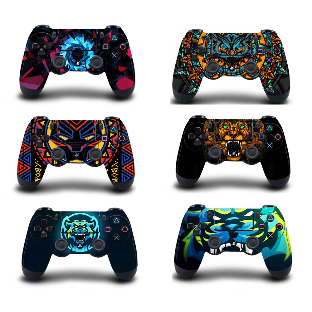 Custom Design Protective Cover Sticker For PS4 Controller Skin For Playstation 4 Pro Slim Decal PS4 Skin Sticker Accessories