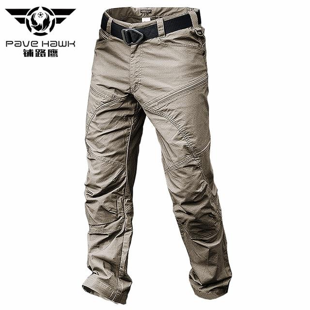PAVEHAWK Cargo Pants Men Elastic Waterproof Army Tactical Military Hiking Trekking Jogger Casual Trousers Sweatpants Streetwear
