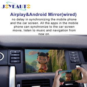 Image 4 - Joyeauto Senza Fili di Apple Carplay Per Land Rover Jaguar Discovery Sport F Ritmo Discovery 5 Android Auto Specchio Wifi iOS13 gioco auto