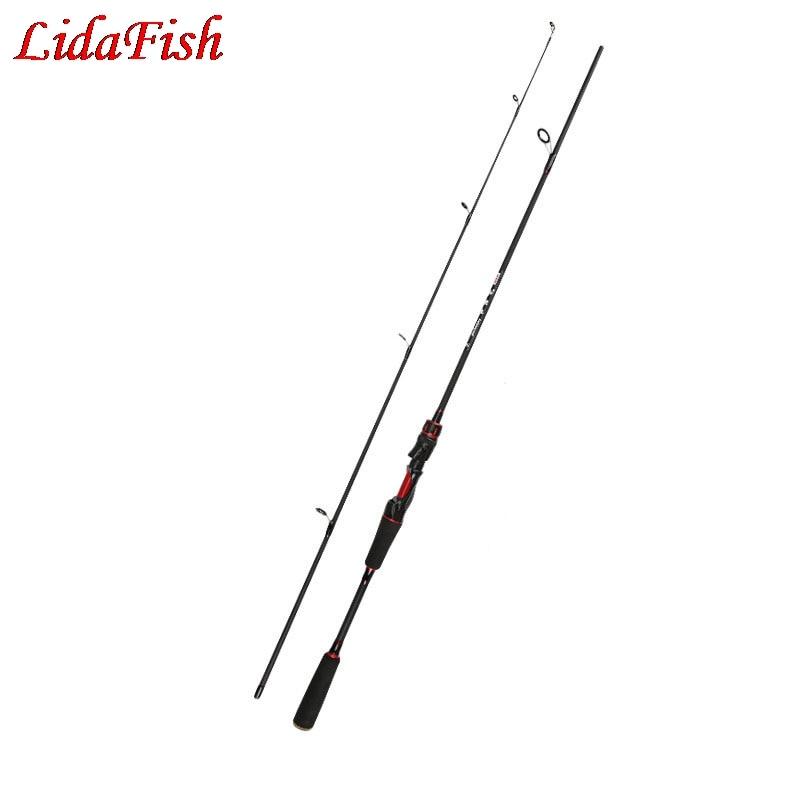 Caña de pescar Original de 1,8 m ML de potencia de fibra de carbono