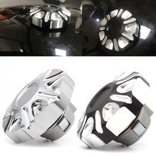 Motorcycle Aluminum Fuel Gas Tank Vented Decorative Oil Cap  Custom Accessories For Harley Street 750 500 2015 2019