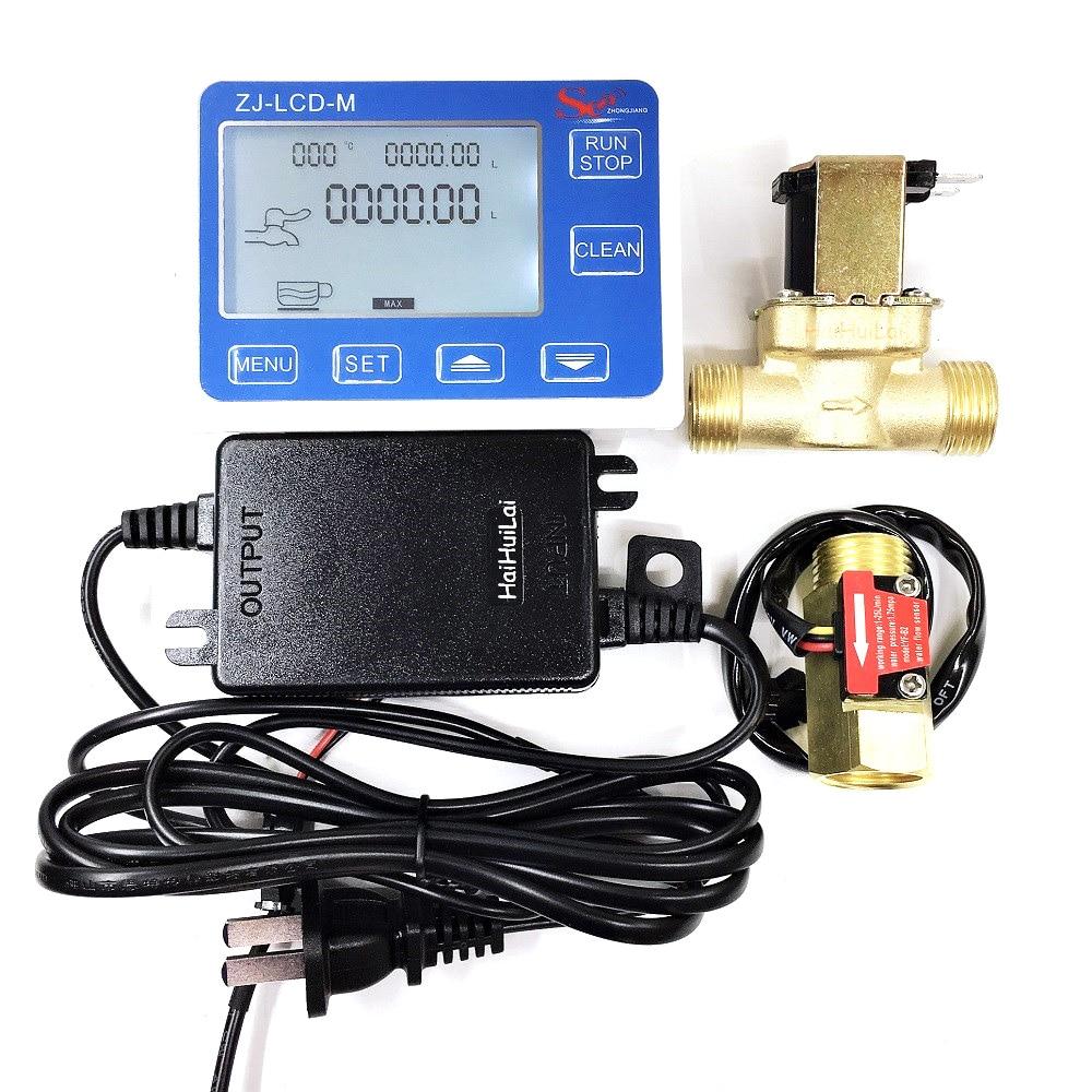 ZJ-LCD-M Meter Controller + 1/2
