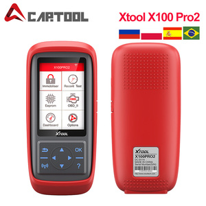 XTOOL X100 Pro Pro2 X100 PRO OBD2 Auto Key Programmer/Mileage adjustment Including EEPROM Code Reader with Free Update