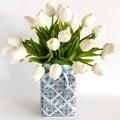 Искусственные цветы тюльпаны реального касания Искусственный букет Искусственный цветок для свадьбы украшения Декор для дома и сада, пода...