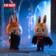 POP MART Labubu, jouets de la série des monstres de carnaval, figurine daction, boîte aveugle, cadeau danniversaire, jouet pour enfant, livraison gratuite