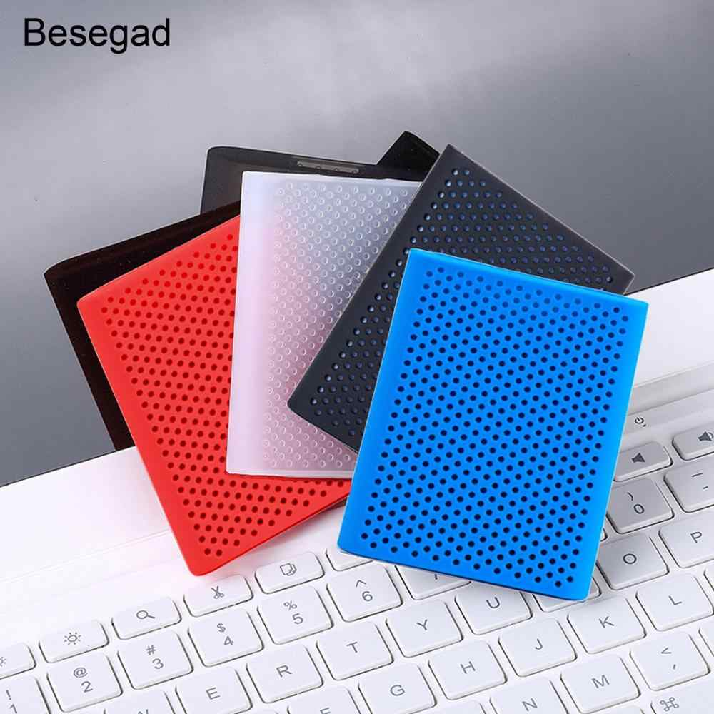Siliconen HDD SSD Case Cover Beschermhoes Pouch Opslag voor Samsung MU-PT500B CN T5 T3 Externe Solid State Drive