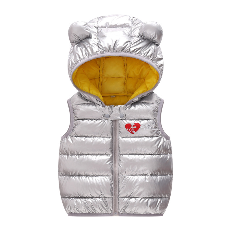 Boy&girls Jacket Children Warm Vest Kids Cotton-padded Thicken Waistcoat Kids Outwears Vest 2018 Children Clothing