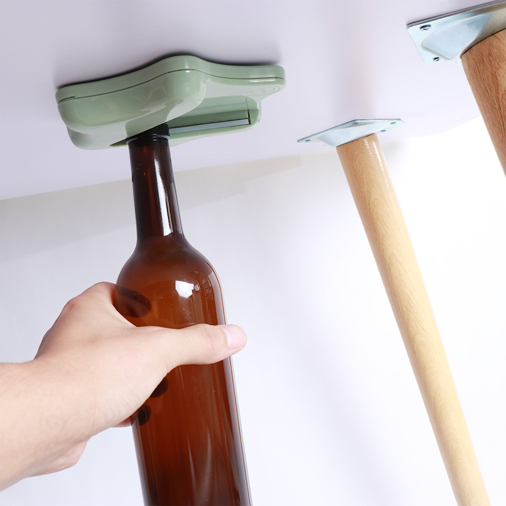 Creative Jar Bottle <font><b>Opener</b></font> Under Kitchen