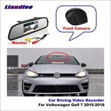 купить Liandlee For Volkswagen Golf 7 2015-2018 Car DVR Wifi Video Recorder Dash Cam Camera Night Vision Control Phone APP 1080P дешево