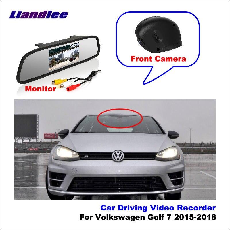 Liandlee pour Volkswagen Golf 7 2015-2018 voiture DVR Wifi enregistreur vidéo caméra tableau de bord caméra de Vision nocturne contrôle téléphone APP 1080P