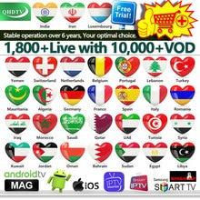 1 Year IPTV M3u France Arabic QHDTV Code Italy Spain Belgium Netherlands German for Android Subscription